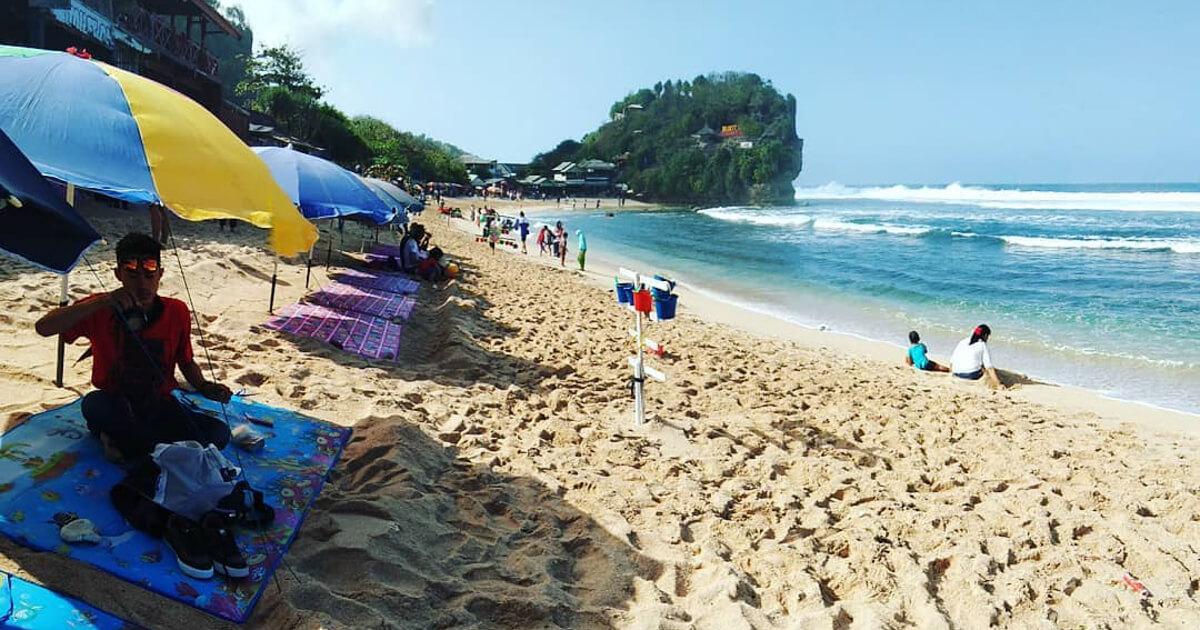 Lokasi Pantai Pulang Sawal
