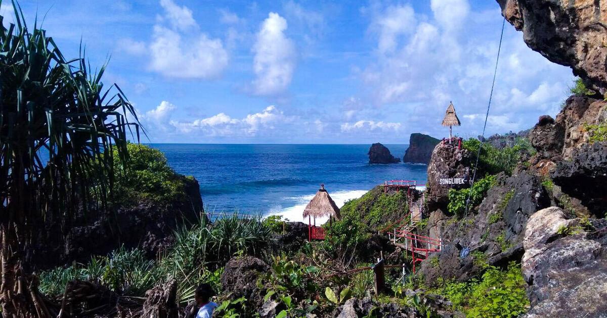 Lokasi Pantai Siung