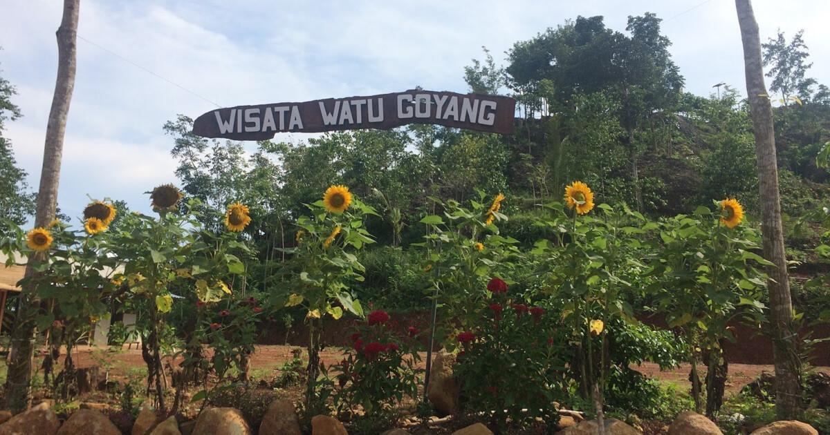 Lokasi Watu Goyang Mangunan