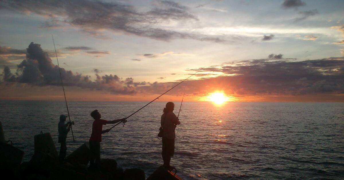 Pantai Glagah Sunset