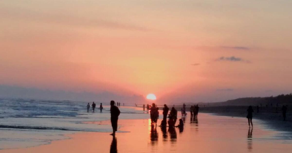 Pantai Parangkusumo Sunset