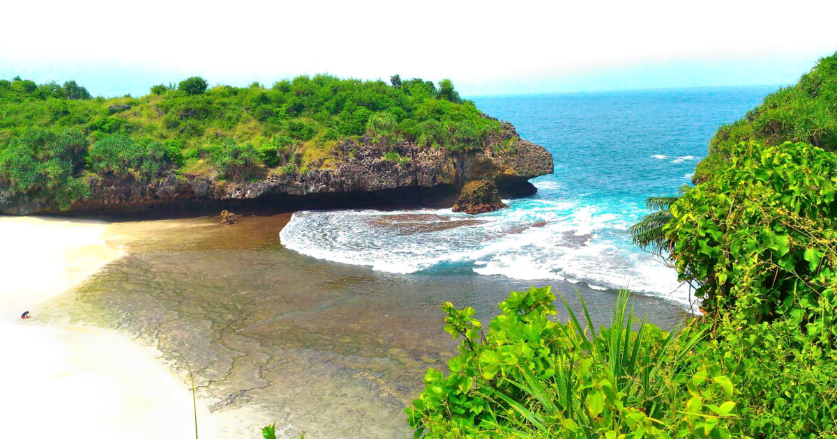 Pantai Sedahan jogja