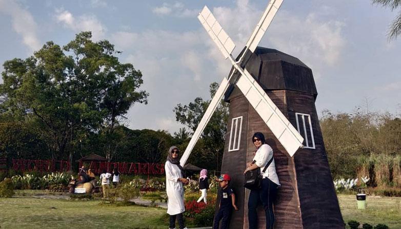 The World Merapi Landmark